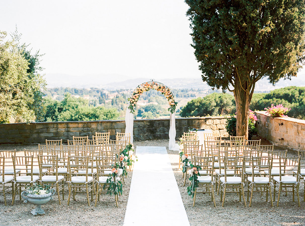 Villa Le Fontanelle Tuscany Wedding Jane   Jason 192 2