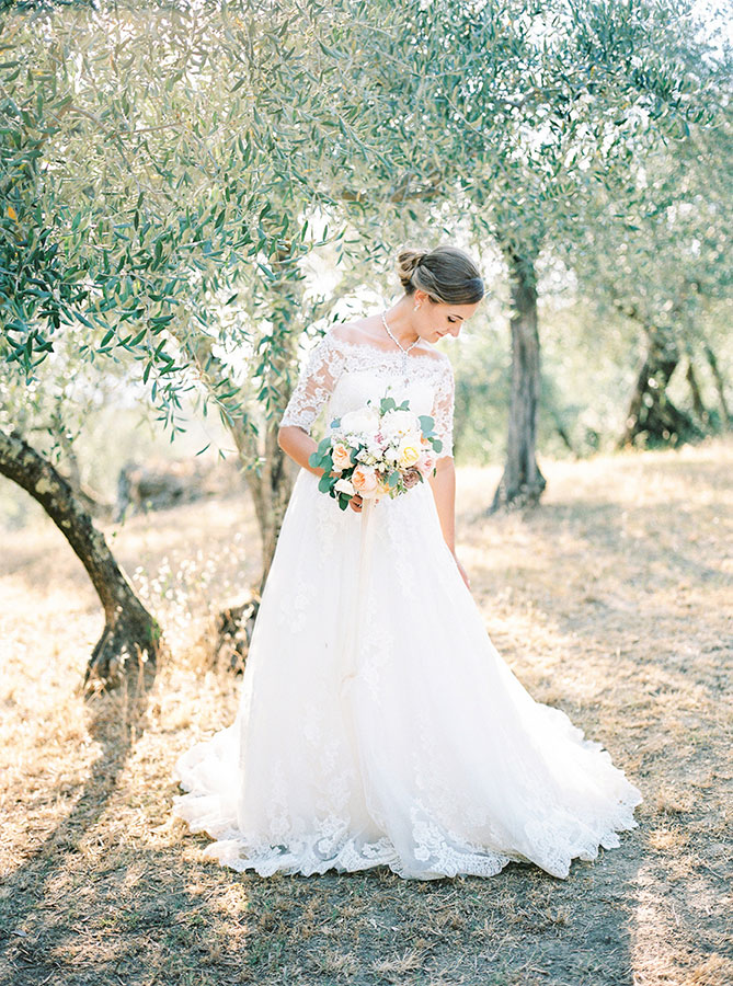 Villa Le Fontanelle Tuscany Wedding Jane   Jason 499 3