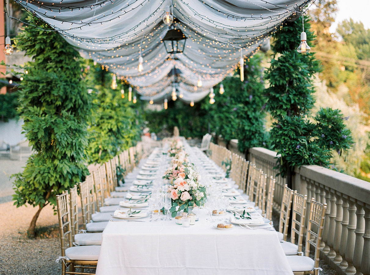 Villa Le Fontanelle Tuscany Wedding Jane   Jason 558 2