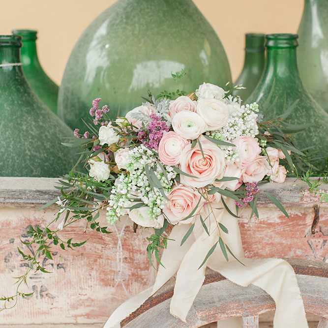 ROSA QUARTZ INSPIRATION - TUSCANY PREWEDDING